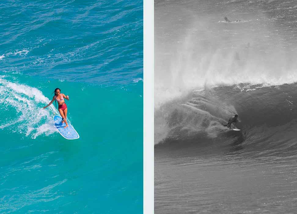 Surfing bukit bali